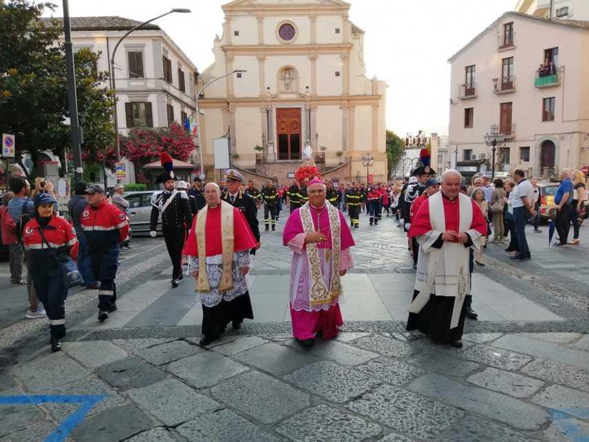Catanzaro. Le parole dell'Arcivescovo Bertolone al termine della processione di San Vitaliano