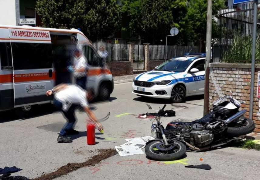 Investito in moto da un suv, muore il 67enne Roberto Buzzelli, primario dell'ospedale di Vasto