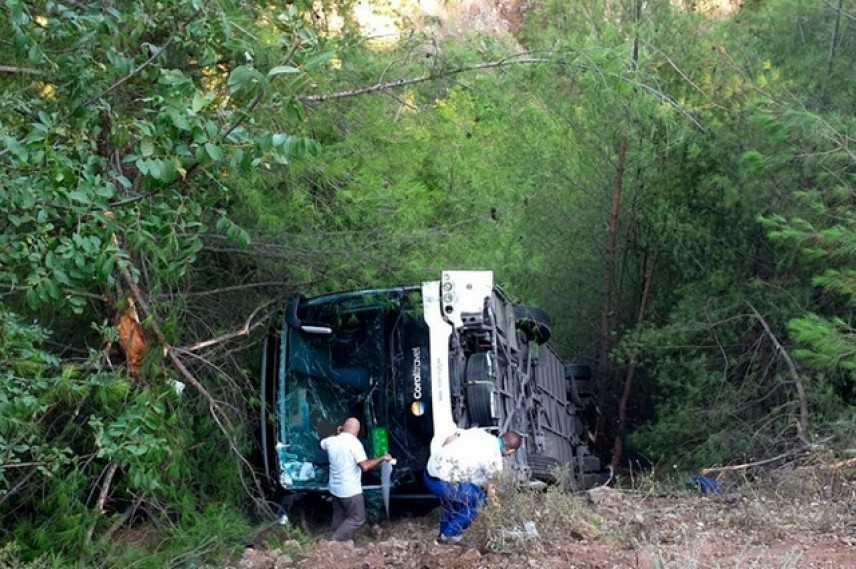 Incidente in Turchia: 25 turisti feriti