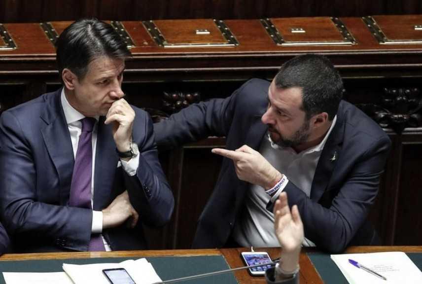 """Salvini attacca Conte: """"Le sue parole mi interessano meno di zero"""""""