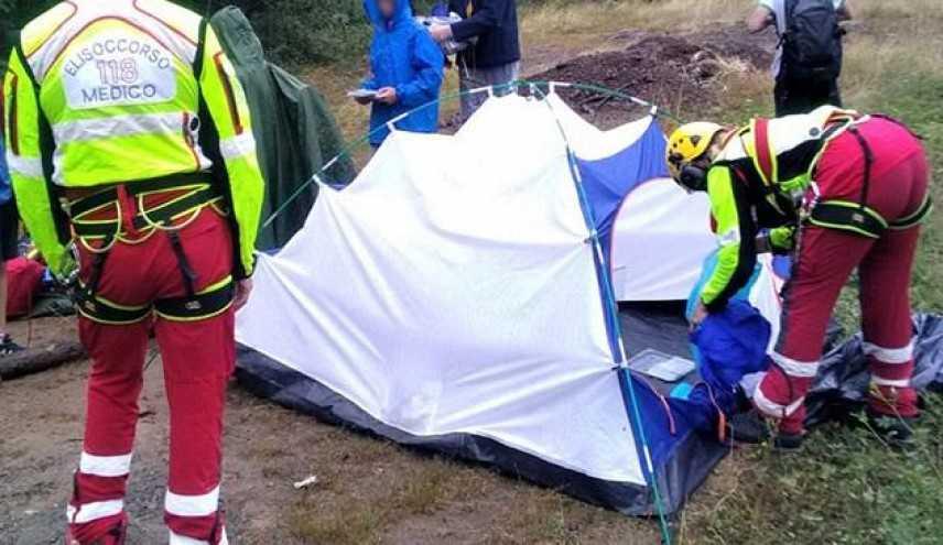Maltempo: salvati scout minorenni bloccati nella notte da un temporale