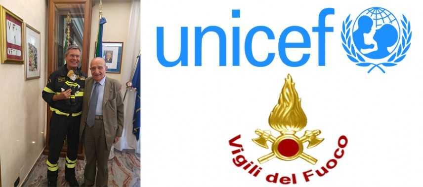 UNICEF e Dipartimento dei VVF insieme per i Diritti dei Bambini