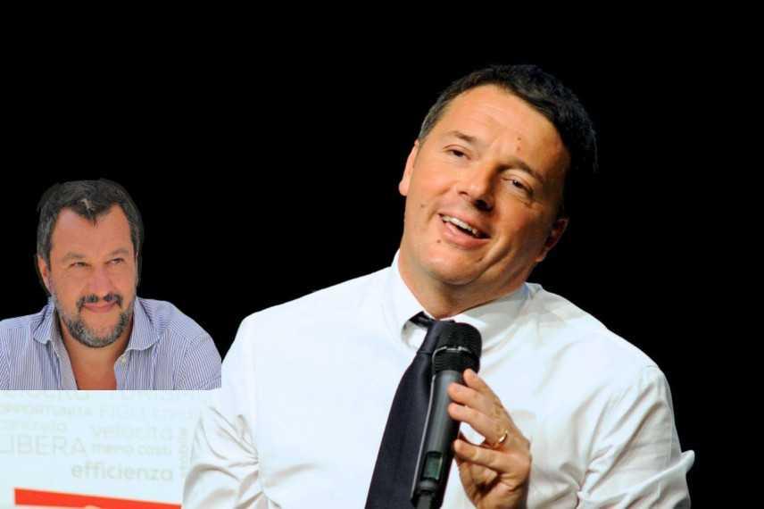 Governo: Renzi, Salvini ha paura di me e dell'Italia civile