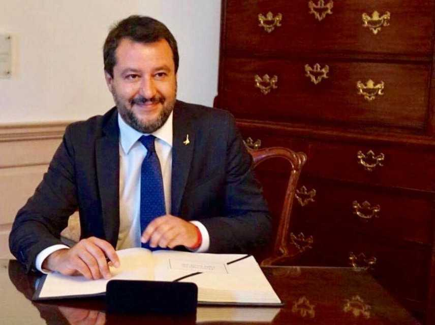Crisi Governo. Matteo Salvini replica a Conte (Video)