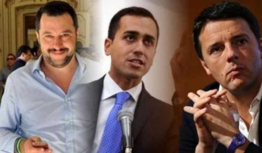 Politica: I tre leader a confronto sulla crisi di Governo