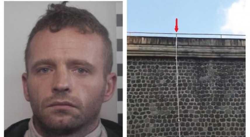 Evasione dal carcere di Poggioreale detenuto si cala dal muro con le lenzuola annodate