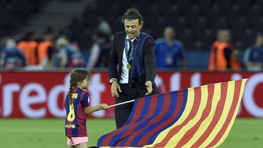 Calcio: tragedia Luis Enrique, è morta la figlia di soli 9 anni