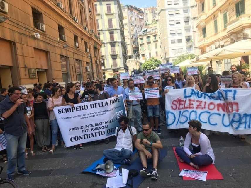 Navigator in Campania: interrotto sciopero della fame per assenza contratto