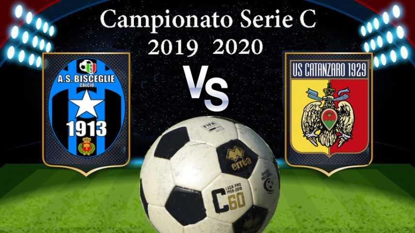Calcio. Serie C: 2° di campionato, Bisceglie-Catanzaro 1-1, pari in rimonta per i giallorossi Video