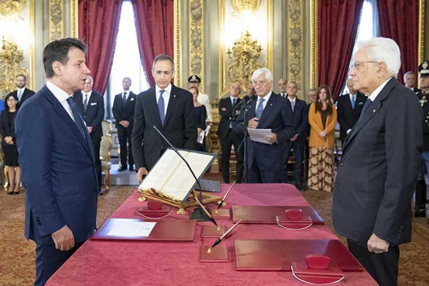 Cerimonia di giuramento del nuovo Governo Conte-Bis. Ecco tutte le Cariche e i nomi dei Ministri