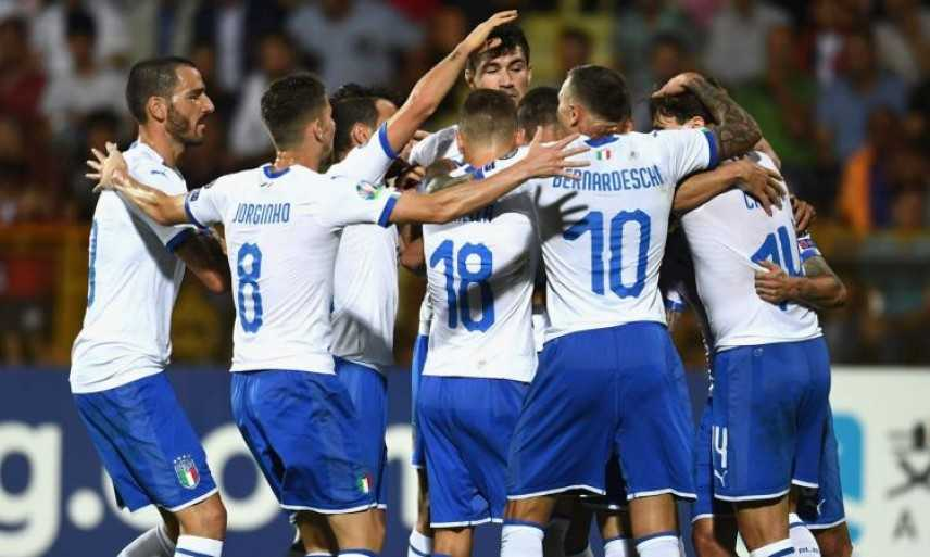 Azzurri rimontano e vincono 3-1. Italia 5 su 5 in Armenia, a passo svelto verso Europei