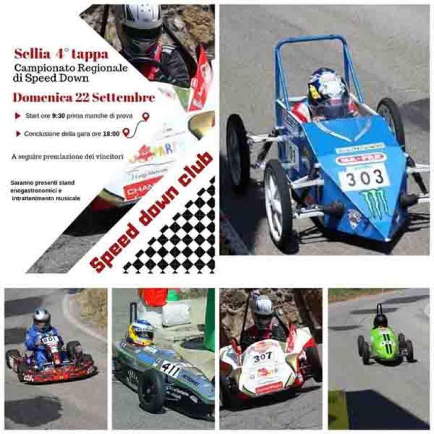 A Sellia (CZ) la 4° tappa del Campionato Regionale di Speed Down