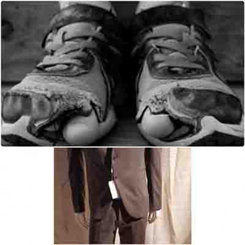 L'idolatra con scarpe rotte o abiti firmati