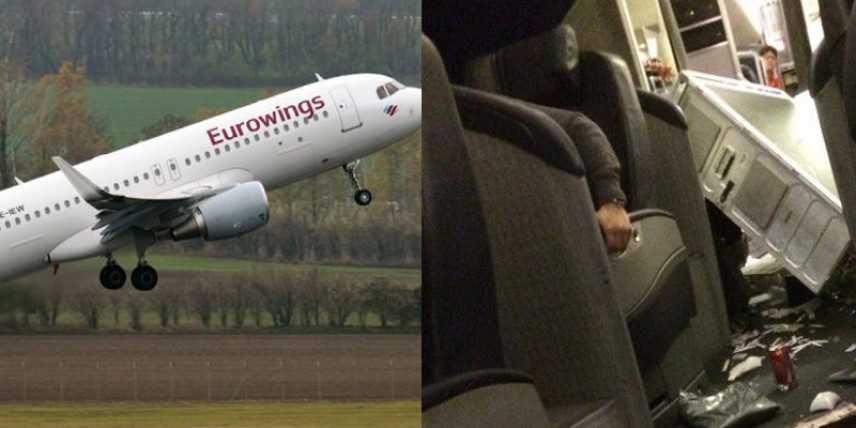 Eurowings, volo Lamezia-Berlino terrore in alta quota, VVF, 8 i passeggeri feriti