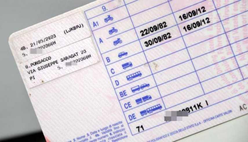 Patente guida, costerà molto cara 'pagamenti anche retroattive'