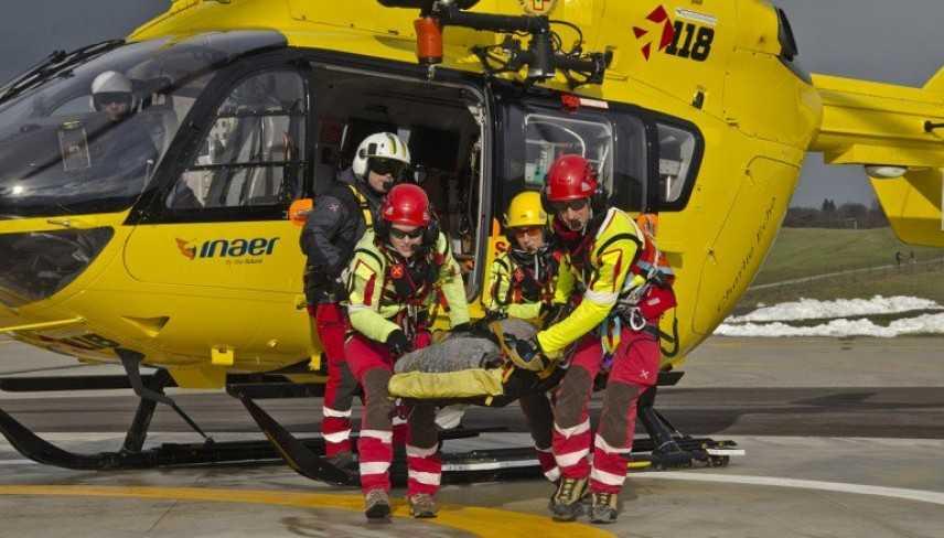 Incidenti lavoro: operaio cade è grave .Trasportato in eliambulanza nell'ospedale di Catanzaro