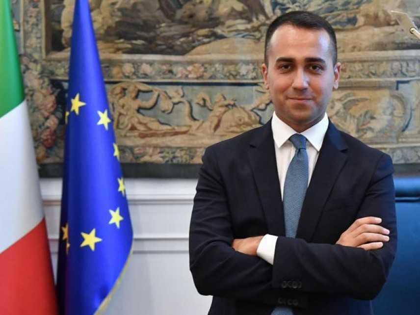 """Di Maio: """"Renzi fuori dal Pd? Non sono preoccupato"""""""