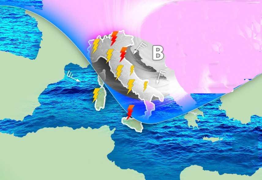 Meteo: Dalla Russia, Bora e Temporali. il dettaglio con previsioni su Nord, Centro, Sud e Isole