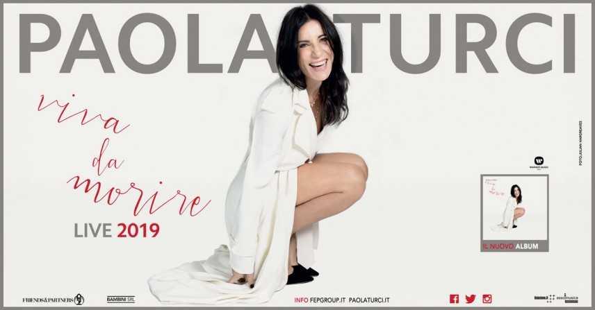 Parte in autunno il tour di Paola Turci. Il 30 novembre il concerto al Teatro Cilea di  Reggio C.