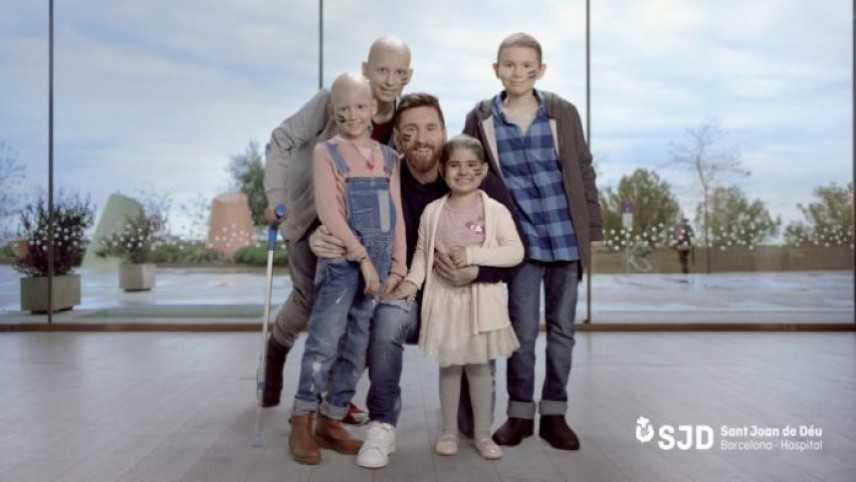 Leo Messi sta costruendo un centro pediatrico per la lotta al cancro