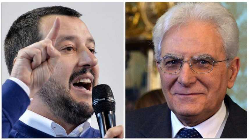M5S-PD alla prova in Umbria. Salvini attacca Mattarella (Video)