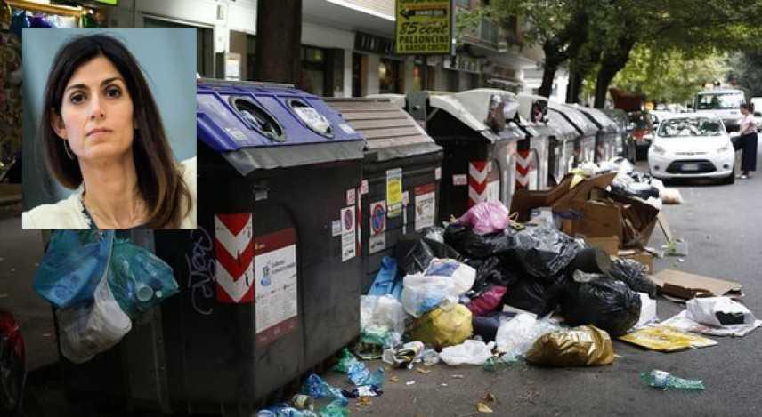 Caos rifiuti a Roma, si è dimesso il CDA di AMA 'inerzia dal comune', Raggi indica Zaghis nuovo AD