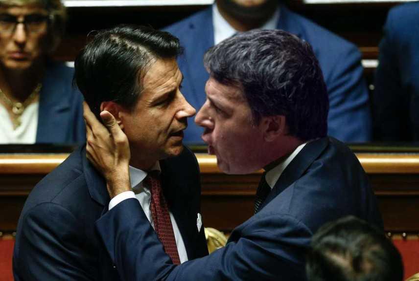 Scontro Renzi-Conte sul cuneo fiscale: 'basta con i fenomeni'. Salvini: 'indegno' da dissidenti M5s