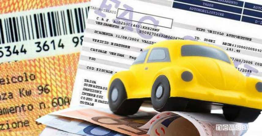 Bollo auto non pagato, condono per importi fino a 1000 euro