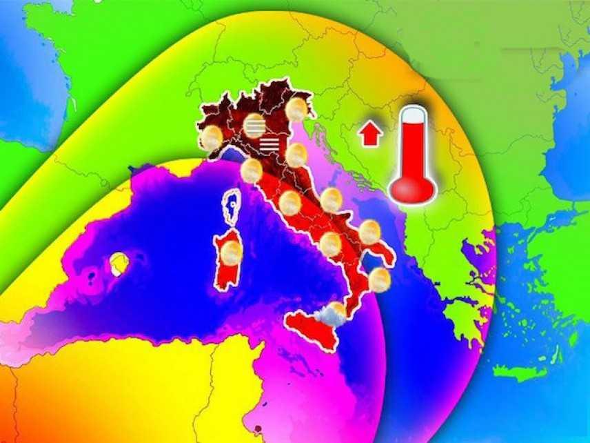Meteo: Da oggi l'anticiclone Africano. Ecco che Cosa Accadrà nel Weekend